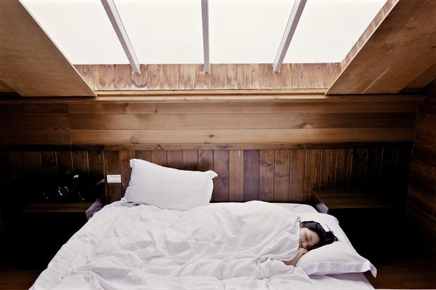 Hütte schlafen